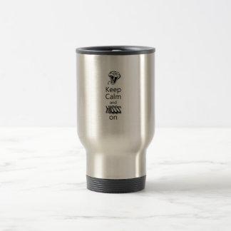 Python Hiss Travel Mug