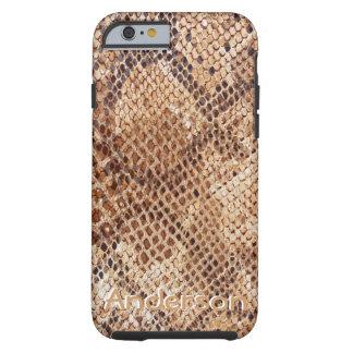 Python Snake Skin Pattern Case