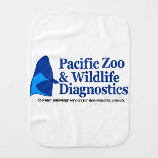 PZWD Logo Baby Gear Burp Cloth