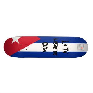 Q-BA TV La TV libre de Cuba Skateboard Deck
