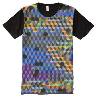 Q Cubes All-Over Print T-Shirt