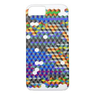 Q-cubes iPhone 7 Case