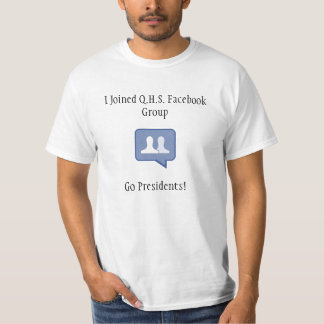 Q.H.S Facebook Group - Shirt