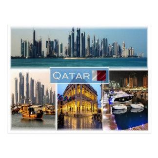 QA Qatar - Postcard