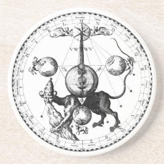 Qabalah Mandala Coaster