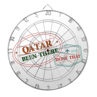 Qatar Been There Done That Dartboard