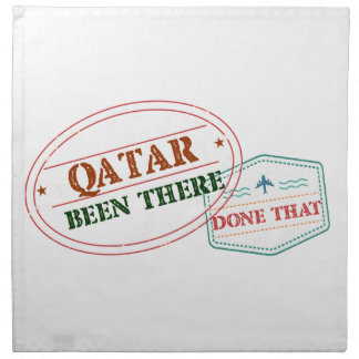 Qatar Been There Done That Napkin