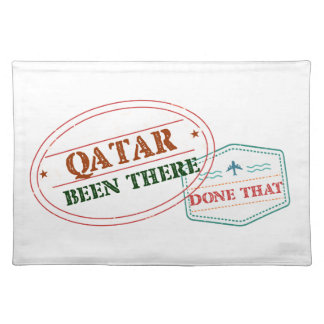 Qatar Been There Done That Placemat