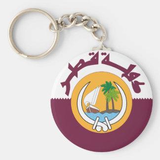 qatar coat of arms key ring