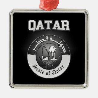Qatar Coat of Arms Metal Ornament