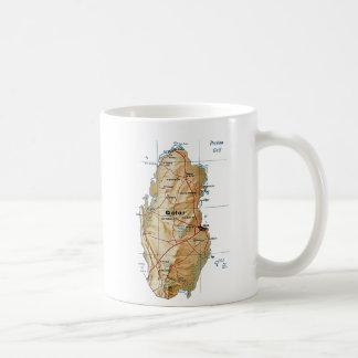 Qatar Flag ~ Map Mug