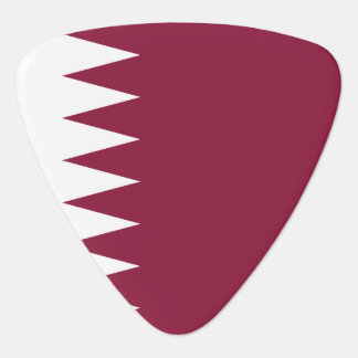 Qatar Flag Plectrum