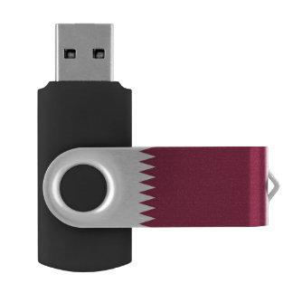 Qatar Flag USB Flash Drive