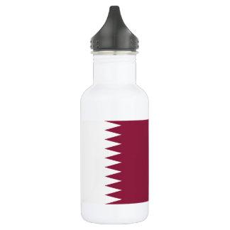 Qatar National World Flag 532 Ml Water Bottle