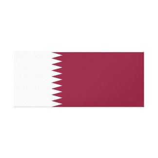 Qatar National World Flag Canvas Print