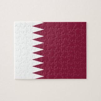 Qatar National World Flag Jigsaw Puzzle