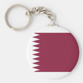Qatar National World Flag Key Ring