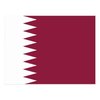 Qatar National World Flag Postcard