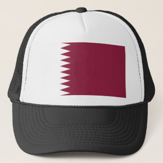 Qatar National World Flag Trucker Hat
