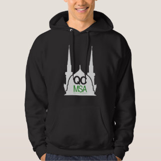 QC MSA green Hoodie