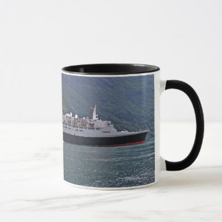 QE2 at Anchor Mug