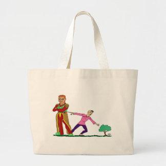 Qho-Dependent Tote Jumbo Tote Bag