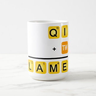 QI is LAME Coffee Mugs