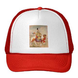 Qianlong Emperor in Ceremonial Armor on Horseback Trucker Hat