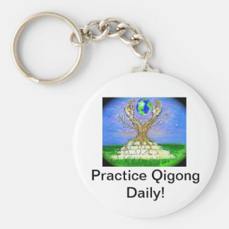 Qigong Keychaine Key Ring