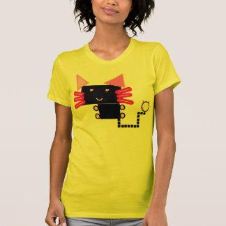 Qillusion kitty-T Tshirts