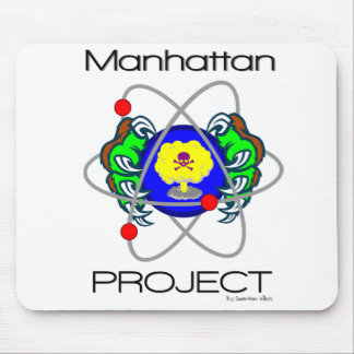 Qk! Manhattan Project Mouse Pad
