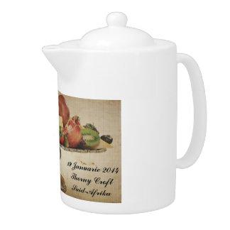 Qnita's Fruit Display  Medium Tea Pot.