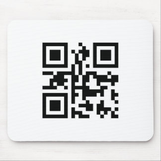 QR Barcode: Have a nice day! Mouse Pad
