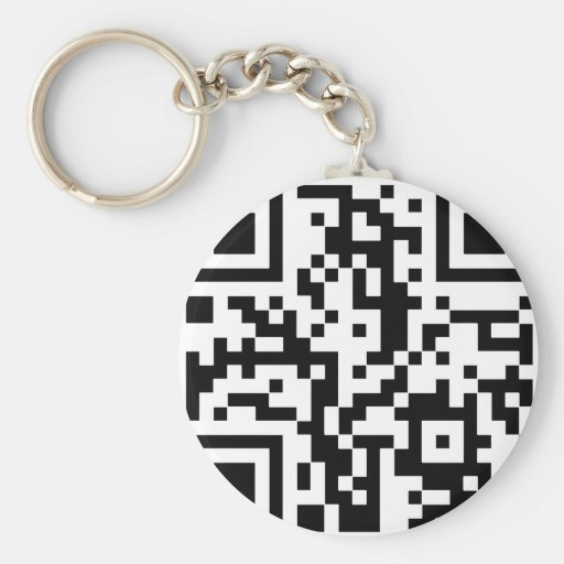 Qr BASIC Keychain