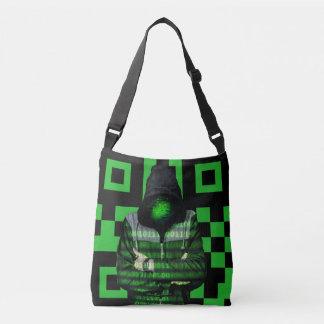 QR Binary Crossbody Bag