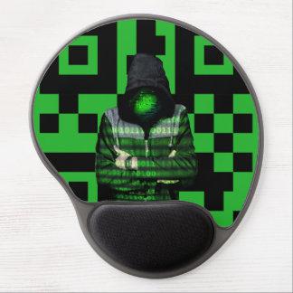 QR Binary Gel Mouse Pad