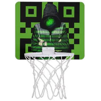 QR Binary Mini Basketball Hoop