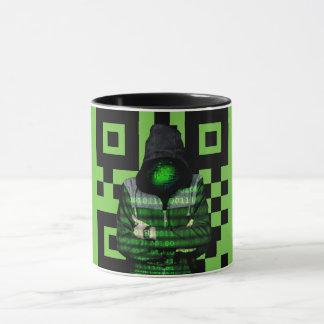 QR Binary Mug