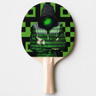 QR Binary Ping Pong Paddle