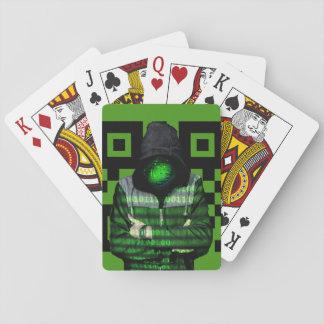 QR Binary Playing Cards