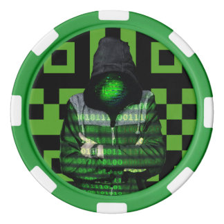 QR Binary Poker Chips