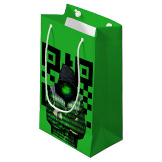 QR Binary Small Gift Bag