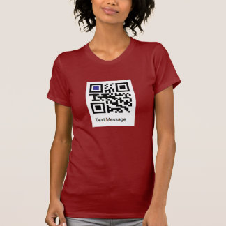 "QR code for "" I AM A LESBIAN "" T-Shirt"