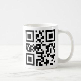 QR Code - Happy Chanukah! Basic White Mug