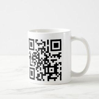 QR Code How Now Brown Cow? Coffee Mug