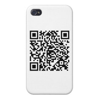 QR Code Junkie Style iPhone 4/4S Cases