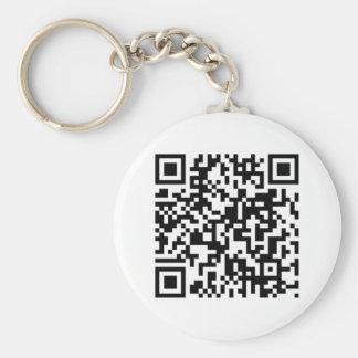 QR Code Key Ring