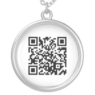 QR CODE STORE TEMPLATE NECKLACE