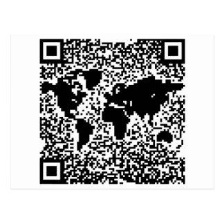 QR Code - The World Postcard