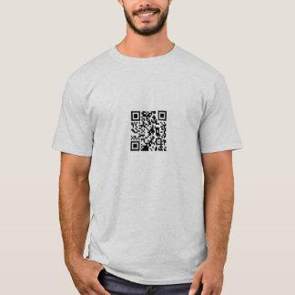 QR code www.nicolasfillon.com T-Shirt